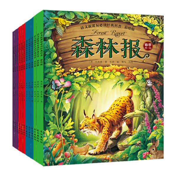 森林报礼盒装绘本 非注音儿童故事 12册全套